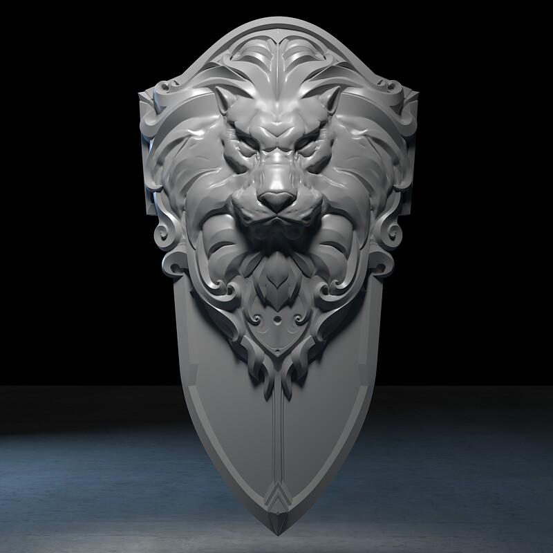 Warcraft Lothars Shield