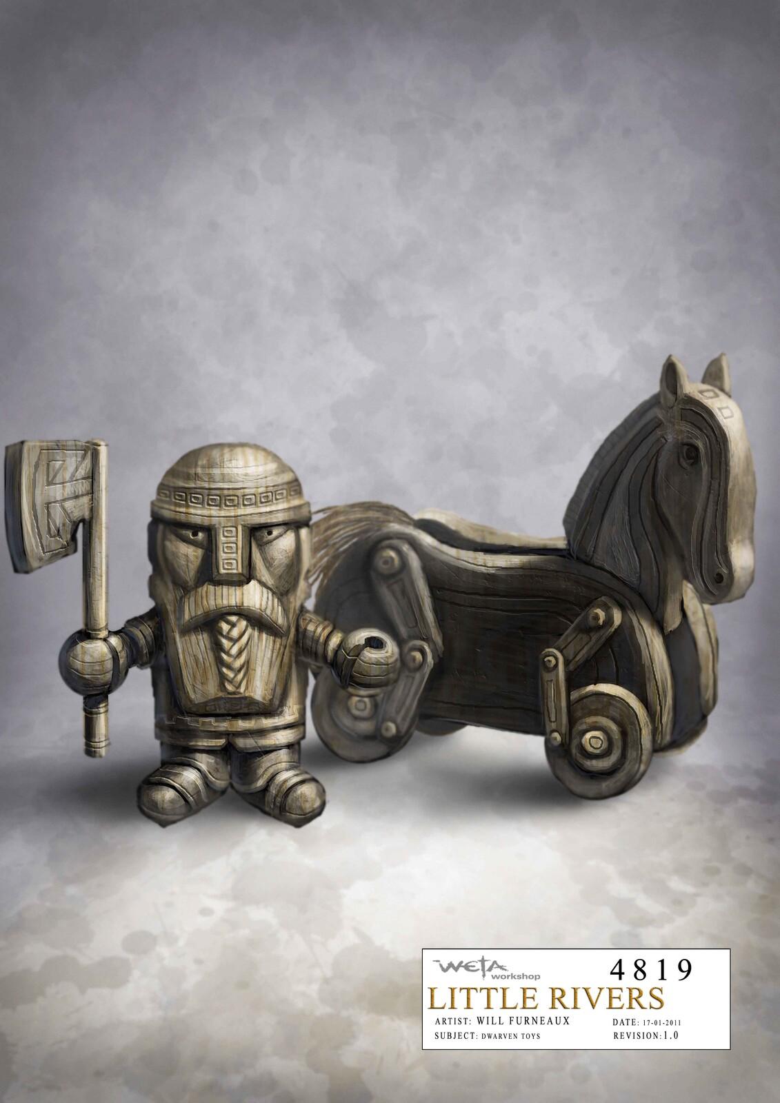 Hobbit - Dwarven toys