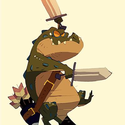 Satoshi matsuura 2019 11 15 crocodile man s