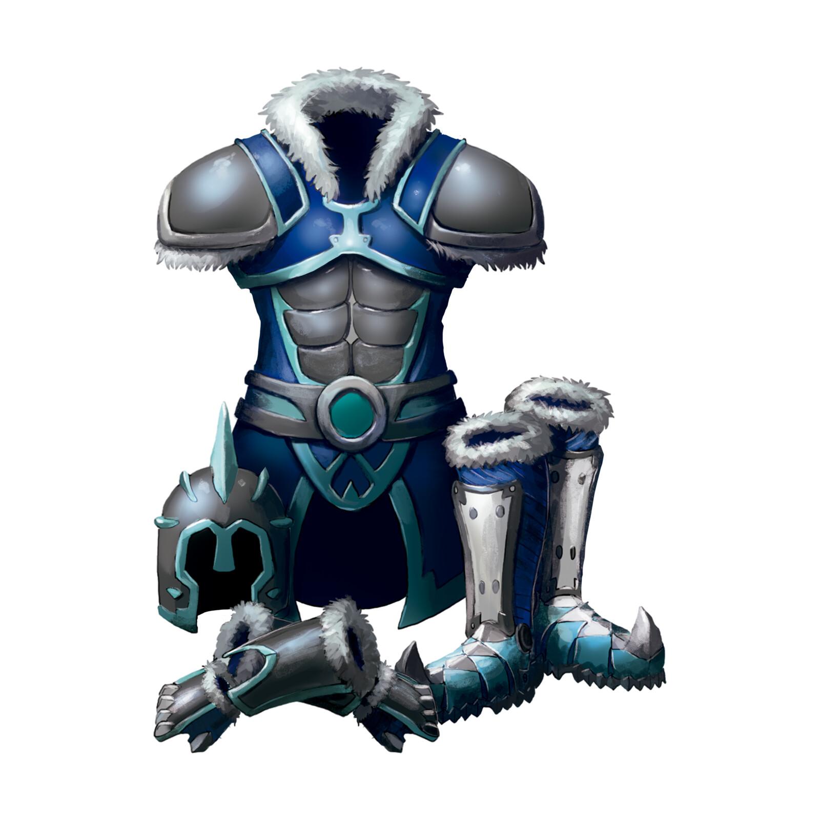 Ice Heart Armor