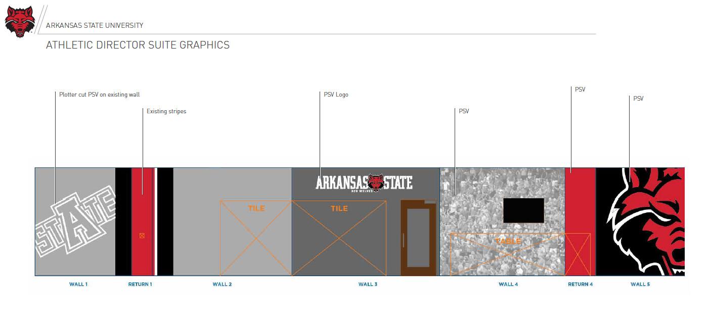 Athletic Director Suite Design Concept