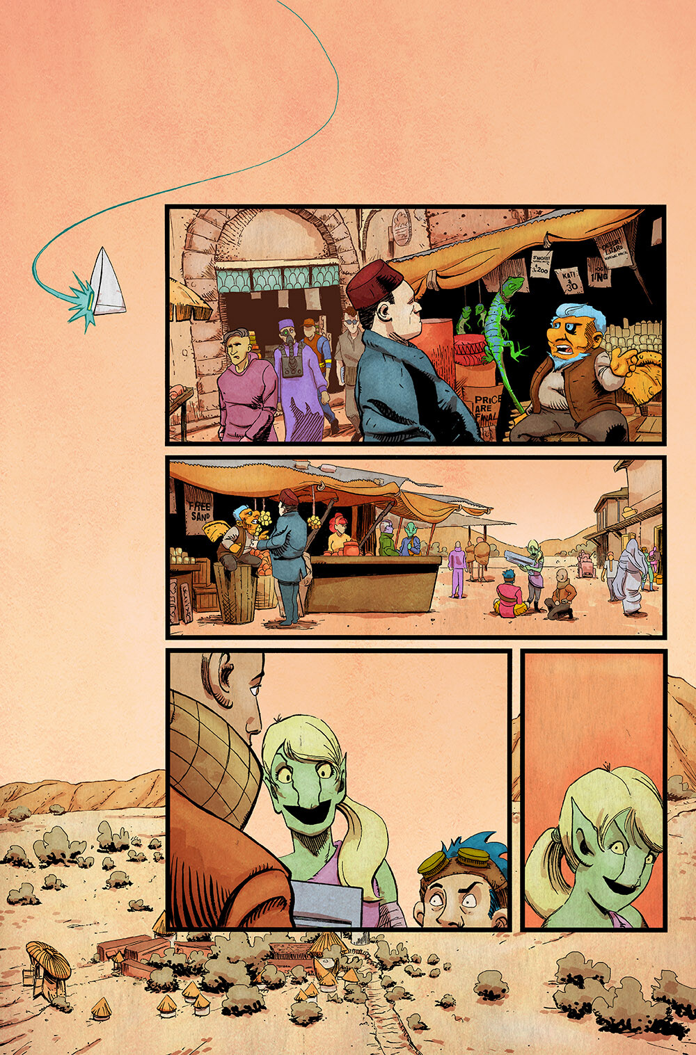 Vagrant Queen: A Planet Called Doom #1 pg 06