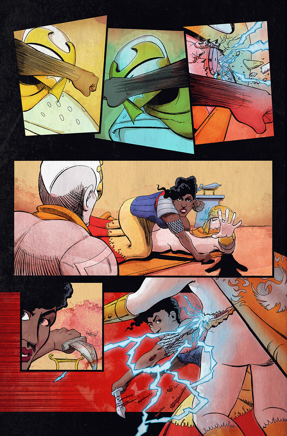 Vagrant Queen: A Planet Called Doom #3 pg 06