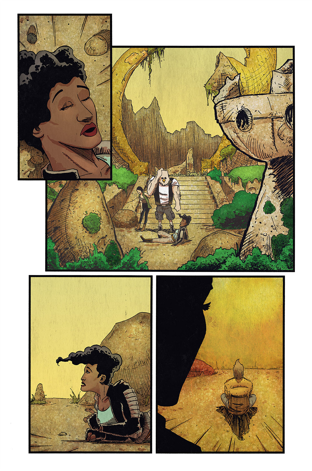 Vagrant Queen: A Planet Called Doom #6 pg 18