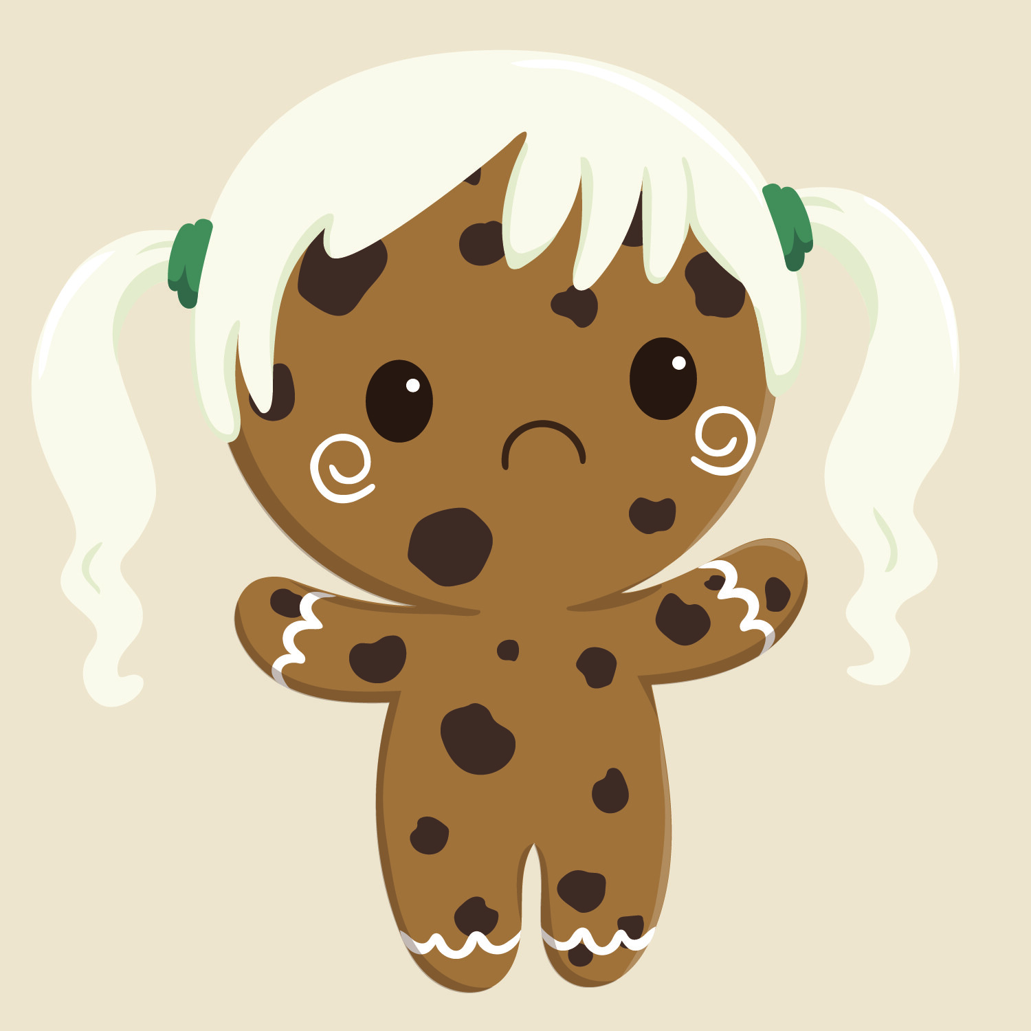 chocolate cookie body