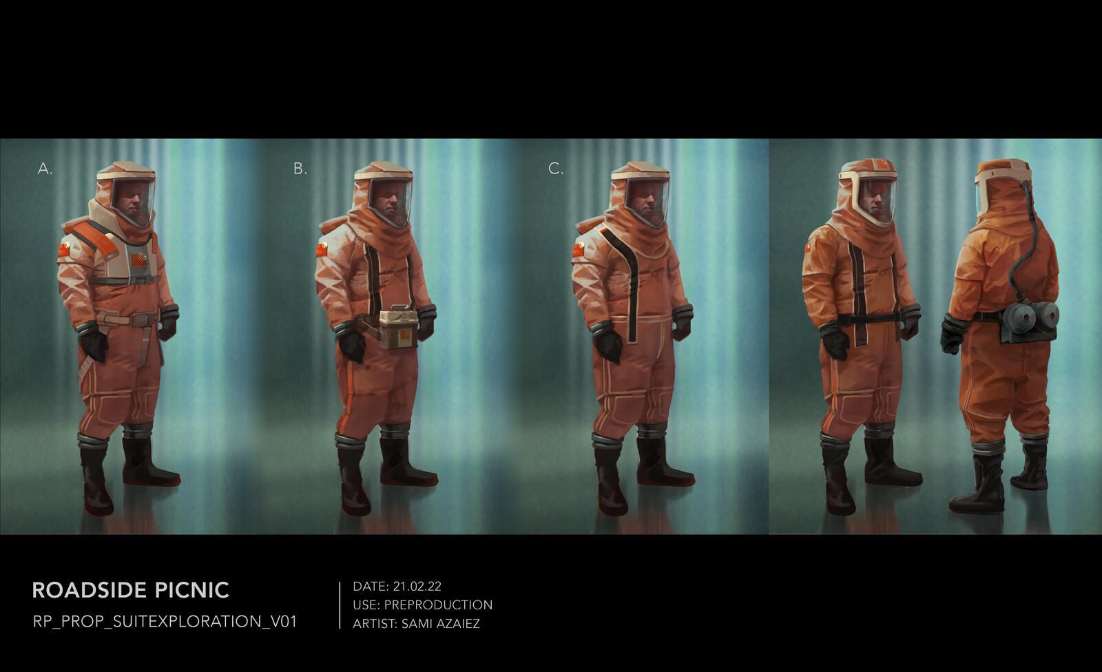 Zone Resistant Suits