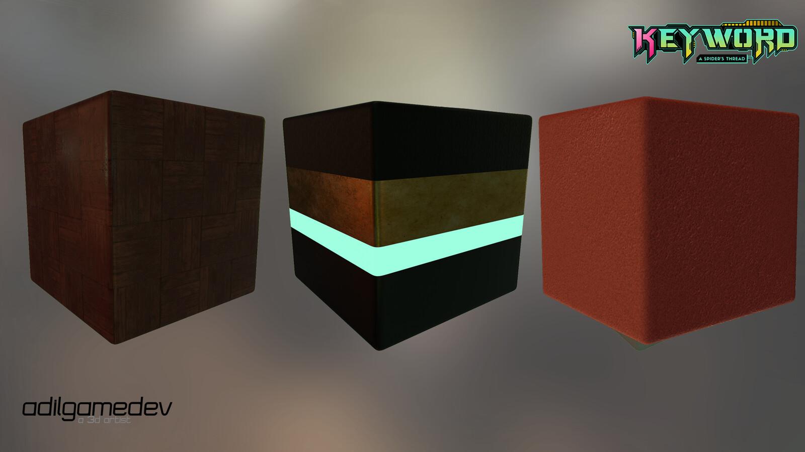 Sole architecture textures