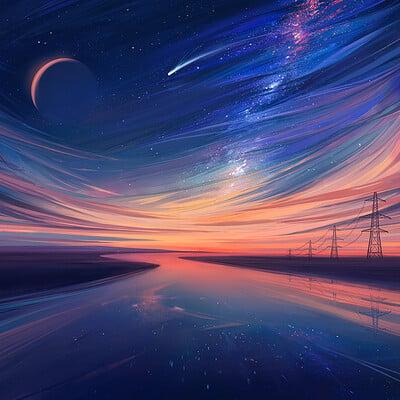 Alena aenami bluehour 1k