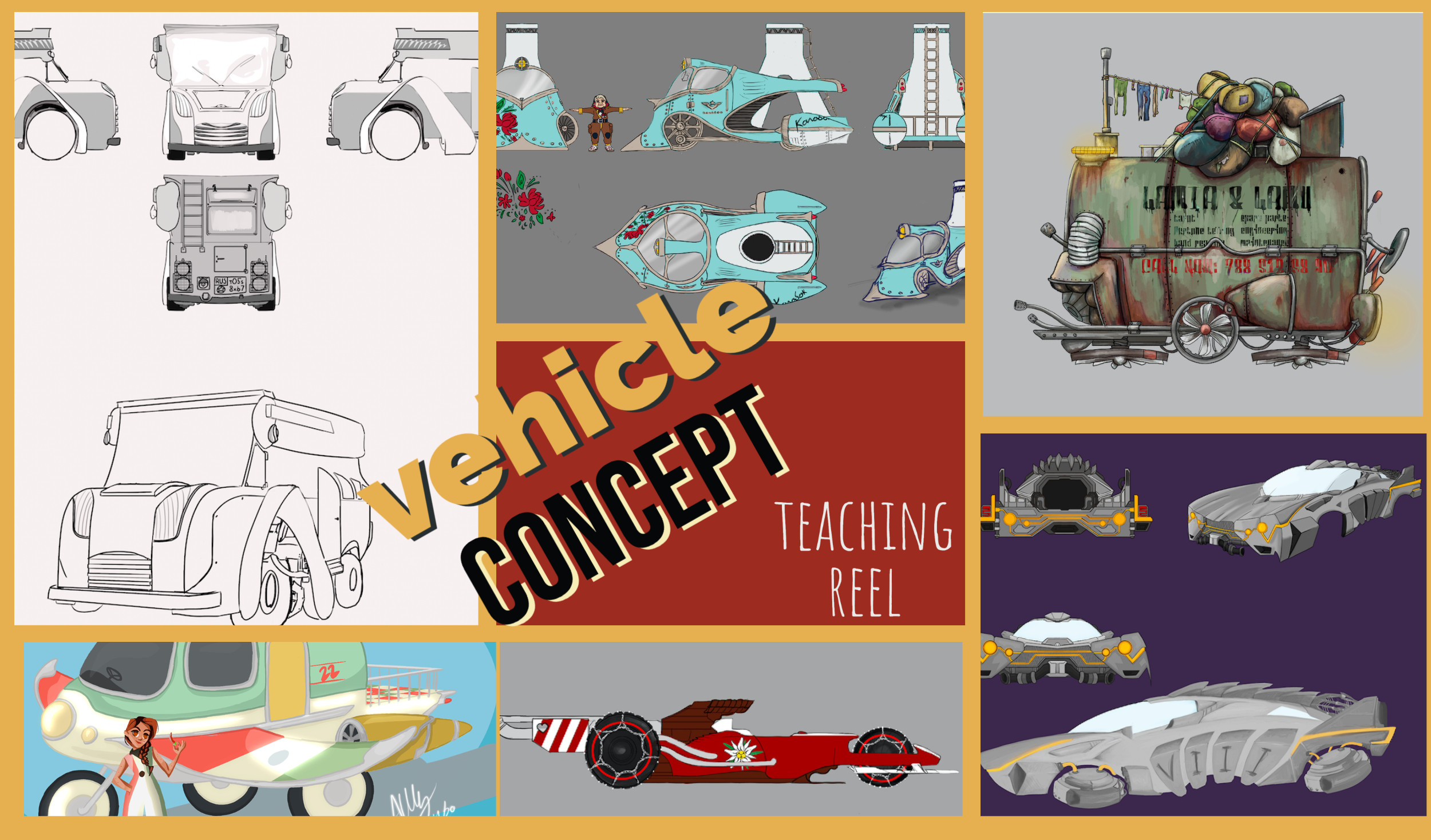Vehicle Concept, Teaching Reel with Uppsala University from Sweden