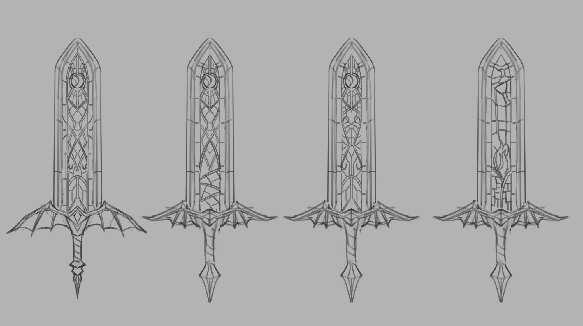 Stained glass design exploration