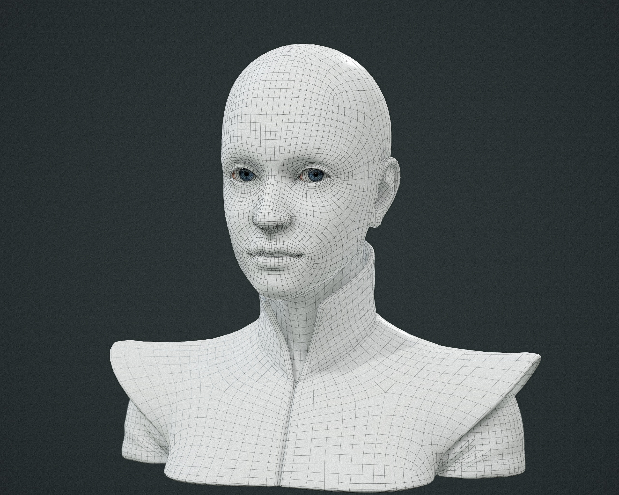 face and clothes topology