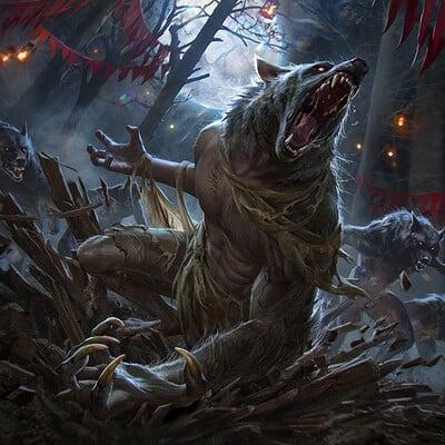 Anna podedworna werewolf