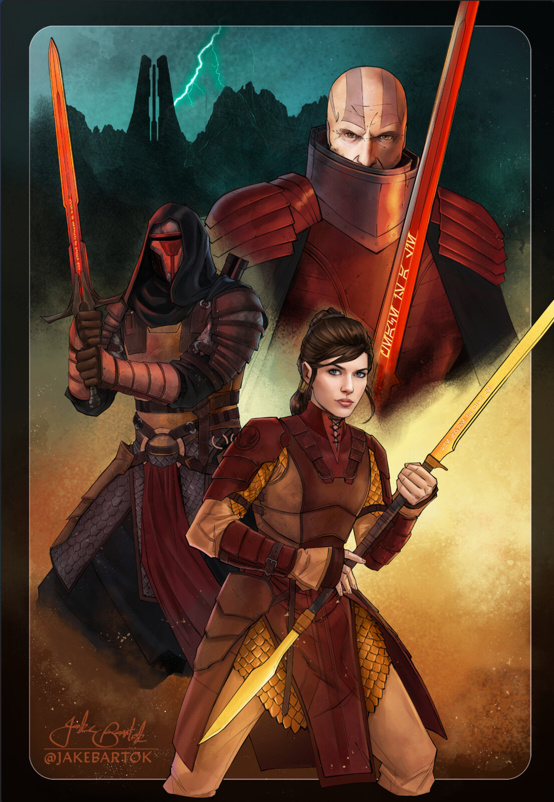 Fantasy Knights of the Old Republic