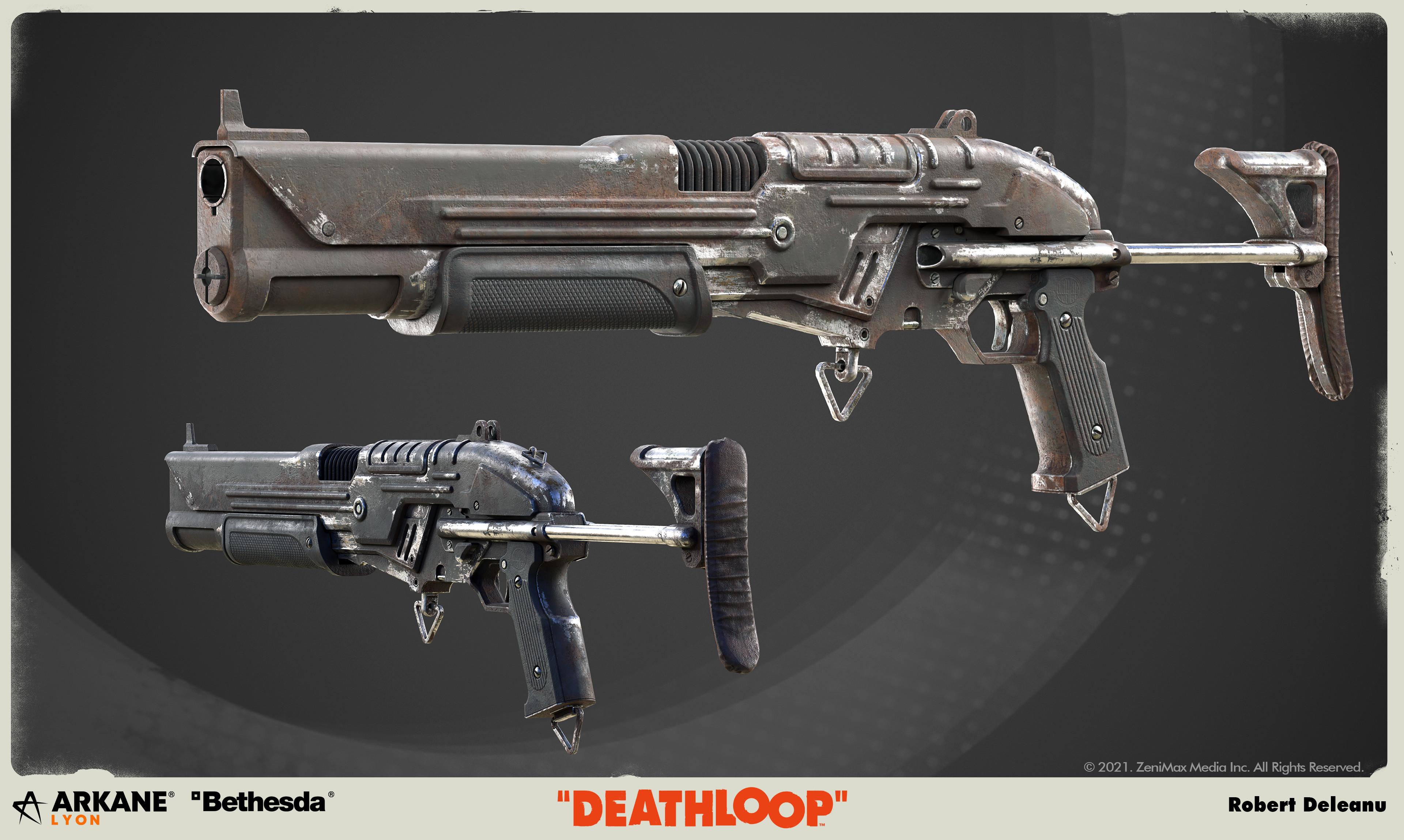 The Vopat Trencher. It's a pump-action shotgun, it rips through enemies lines.