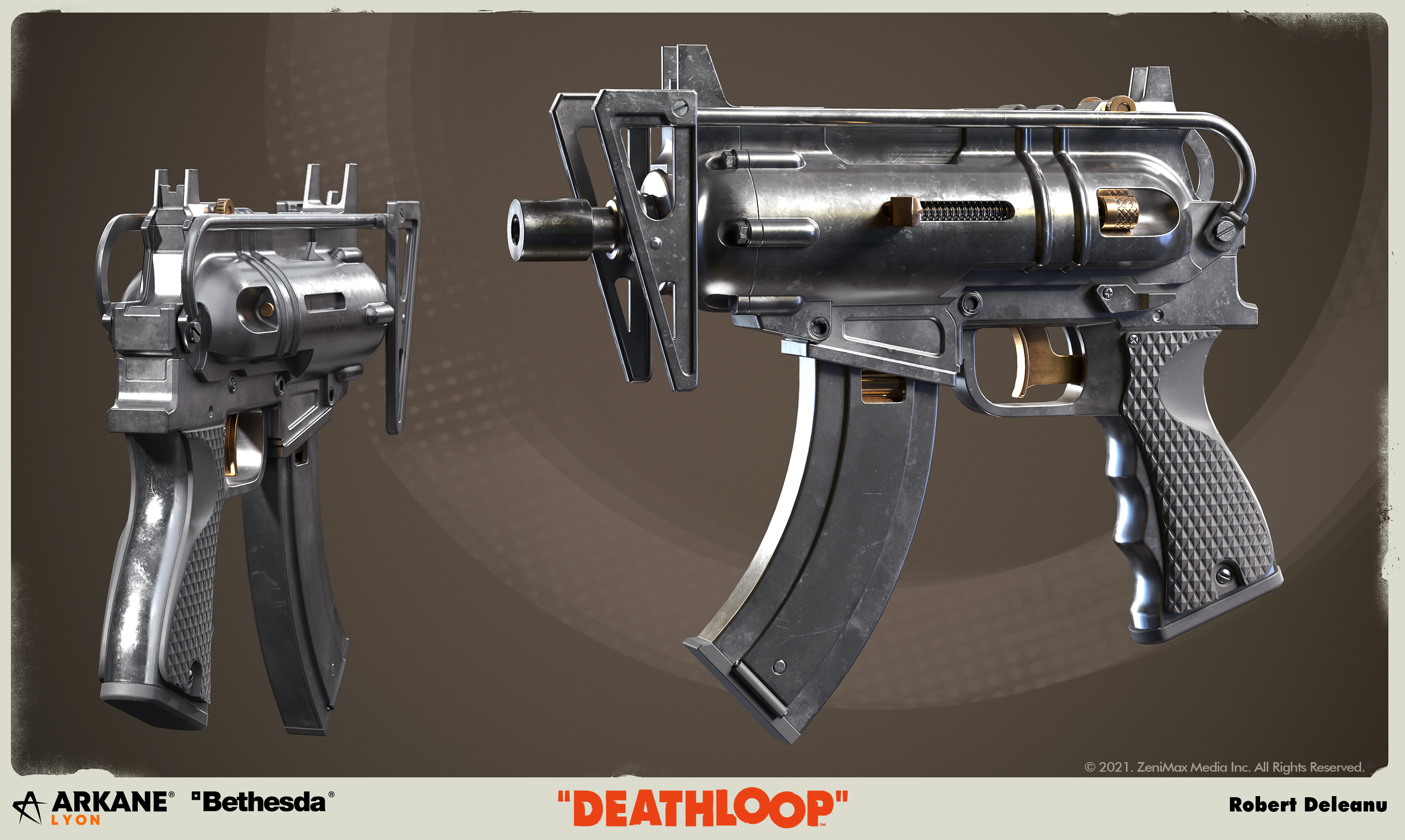 Dual wielding these is a lot of fun, allthough you'll be burning through ammo before you realise it.