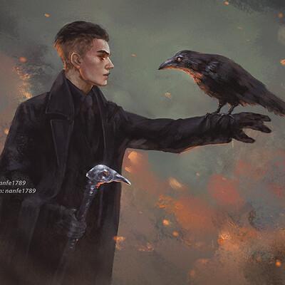 Nan fe you should feed kaz crow fg