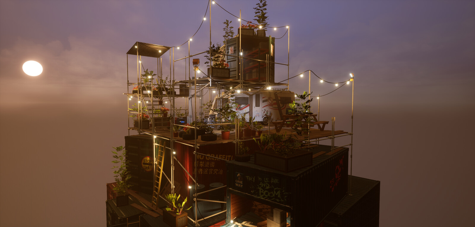 Apocalyptic Base Camp Diorama - Module 2
