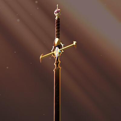 Emikoshan sword end