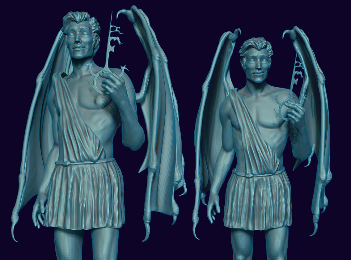 """Lucifer"" pose 2"