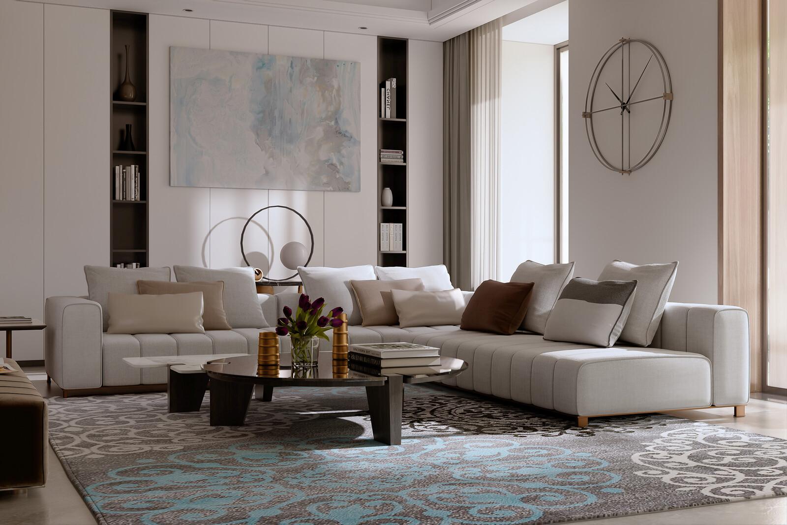 Living Room Light Study