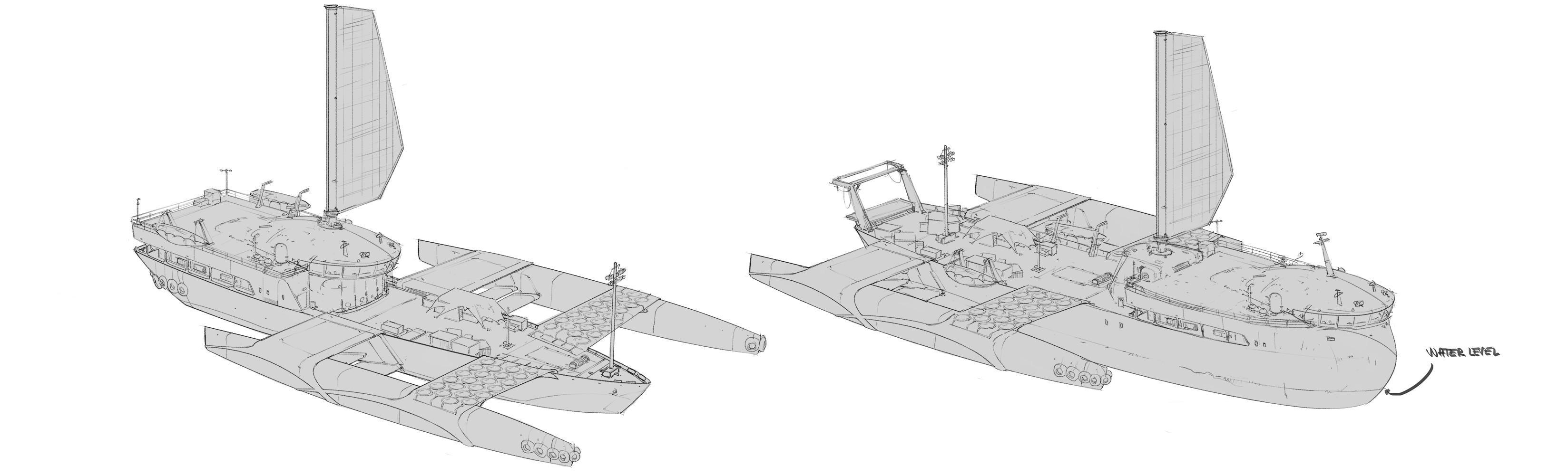 RaftBoat sketches