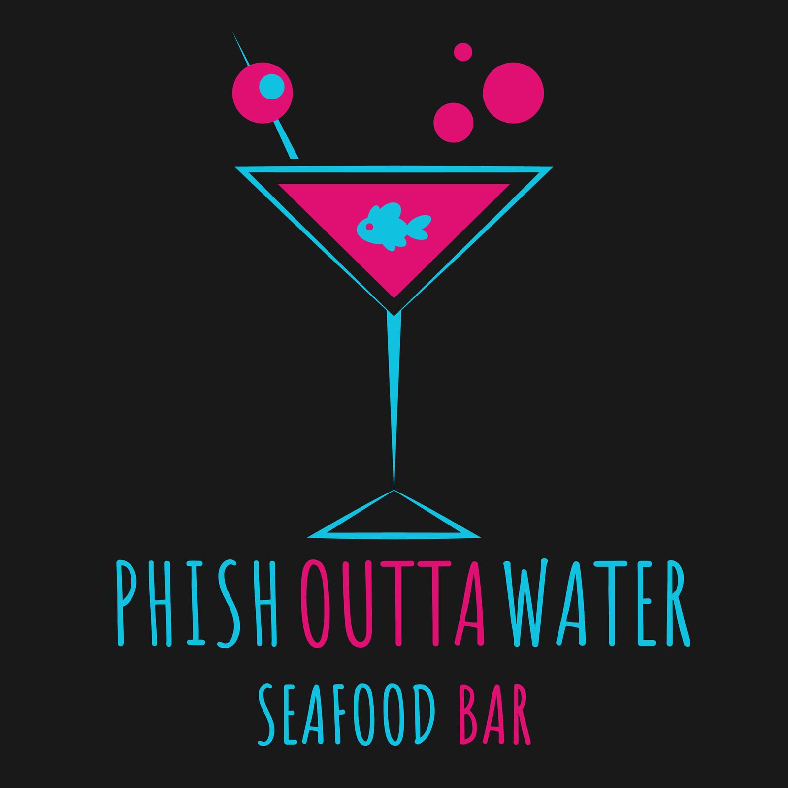 Phish Outta Water Logo