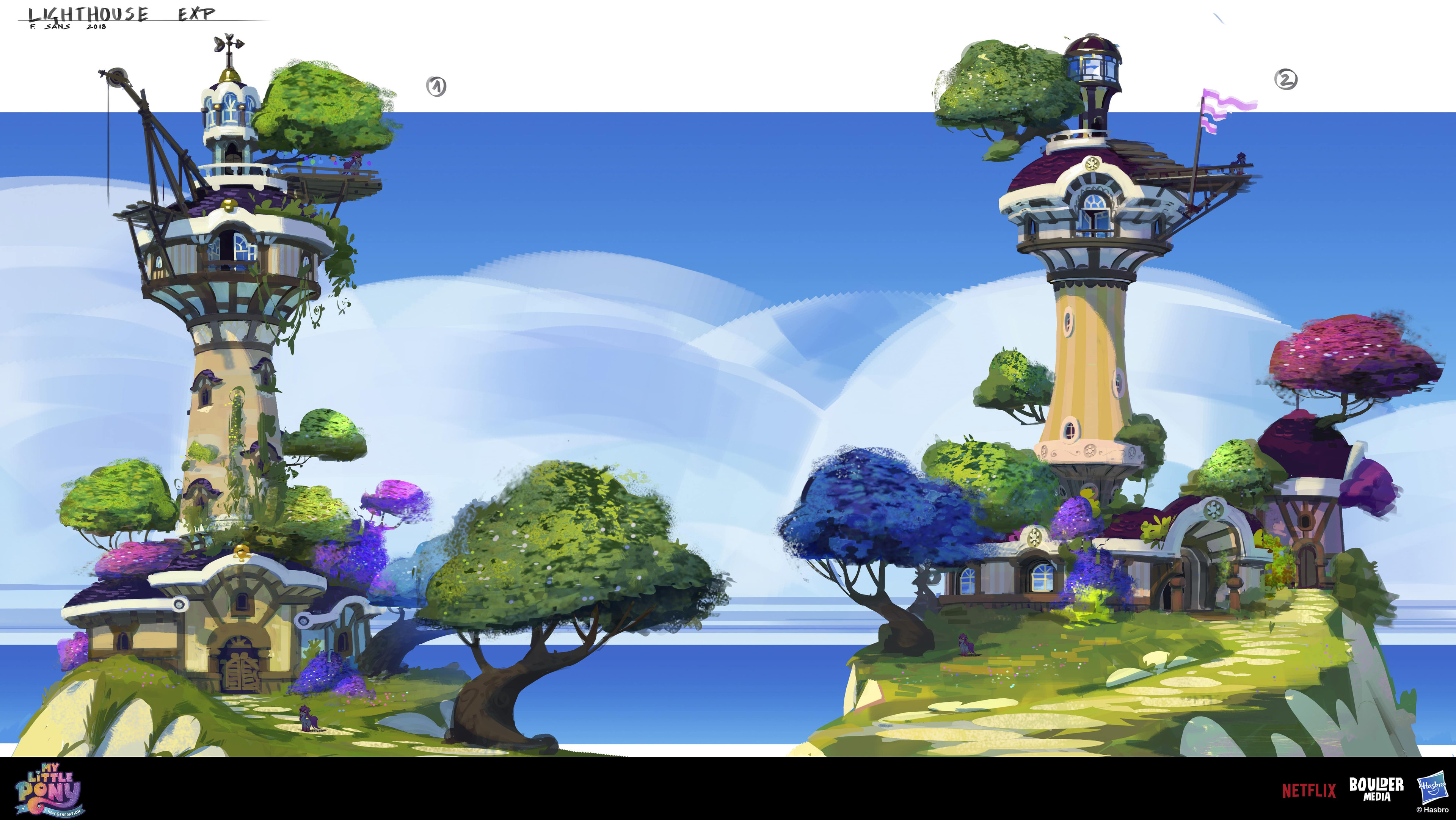 More early lighthouse design
