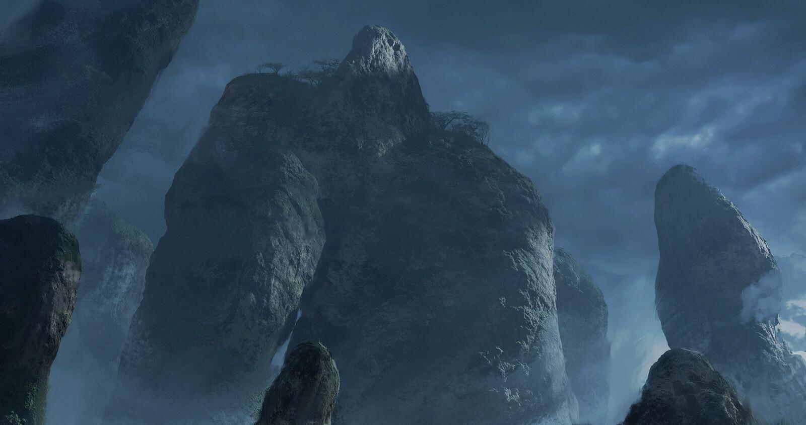 Blender: Procedural Mountains Shader