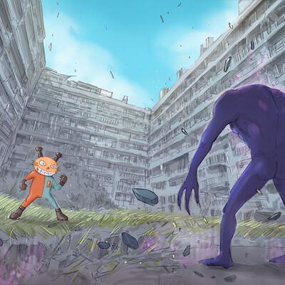 Lopez sylvain nekobon vs monster