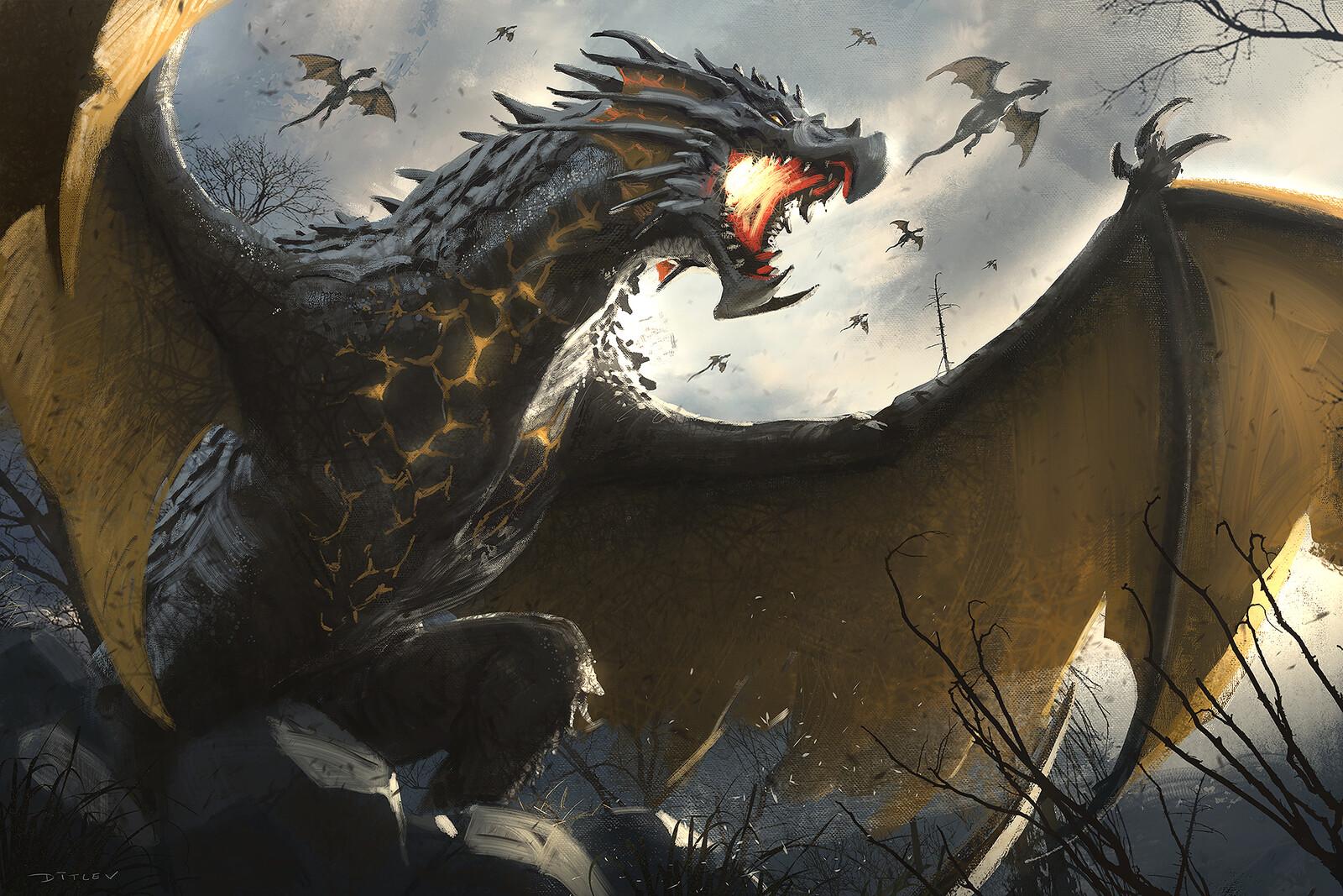 Den of dragons