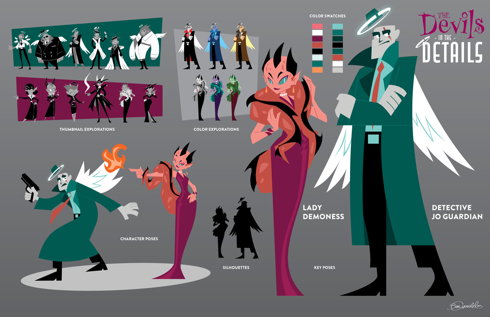The Devils in the Details - Animated Series Concept