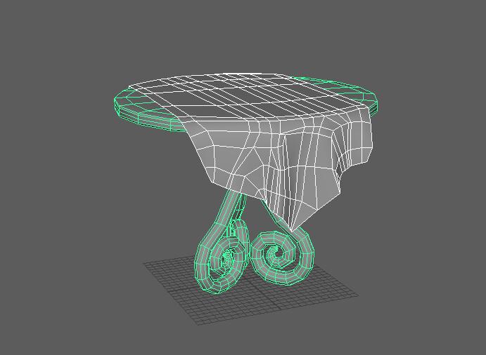 optimized table mesh