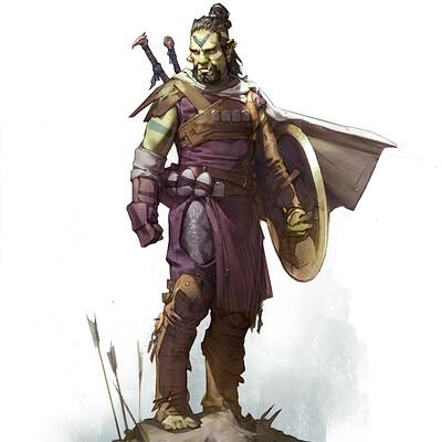 Grant griffin criticalcore barbarian clemon roughsketch07 grantgriffin