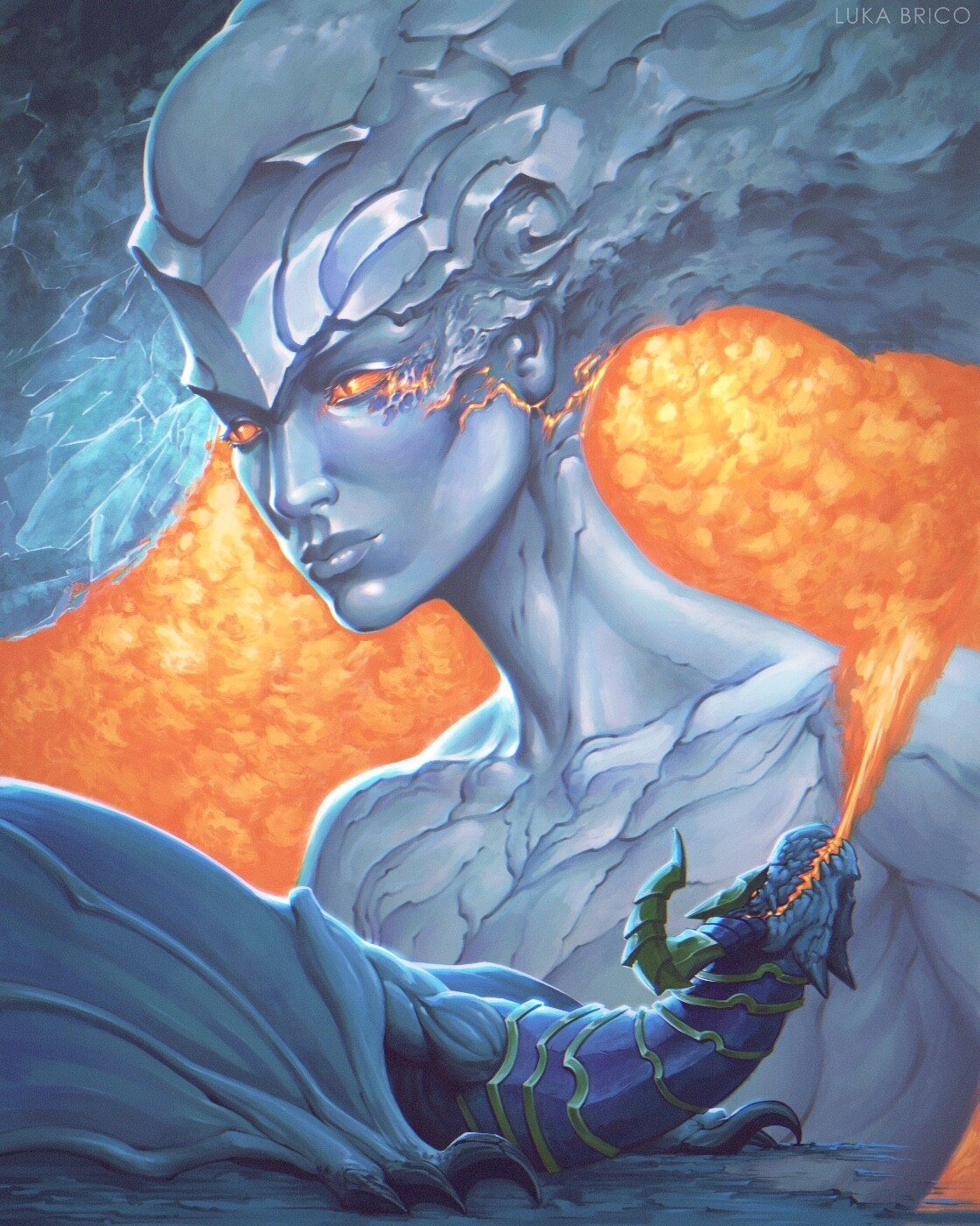 Fire and Ice Shyvanna