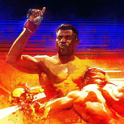 Grant griffin gg si francisngannou roughsketch08 grantgriffin