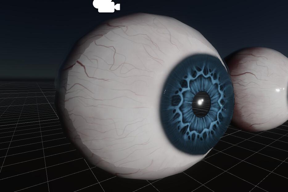 Eyeball Unity HDRP