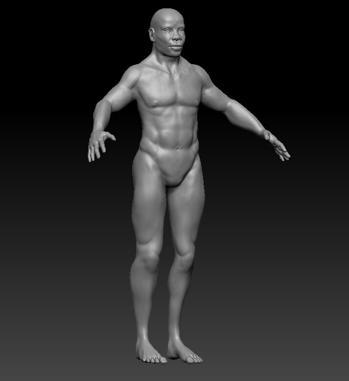 final high poly sculpt with detail