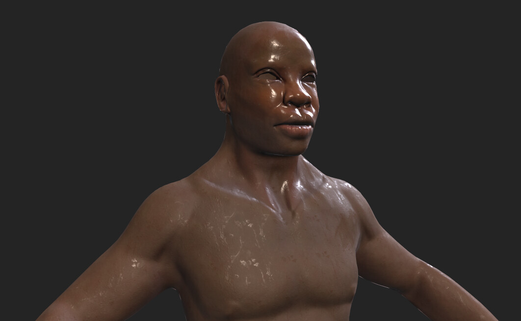 Sweating texture for Unity
