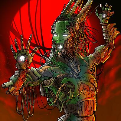 Joao antunes jr antunesketch cyberspeciescolor2