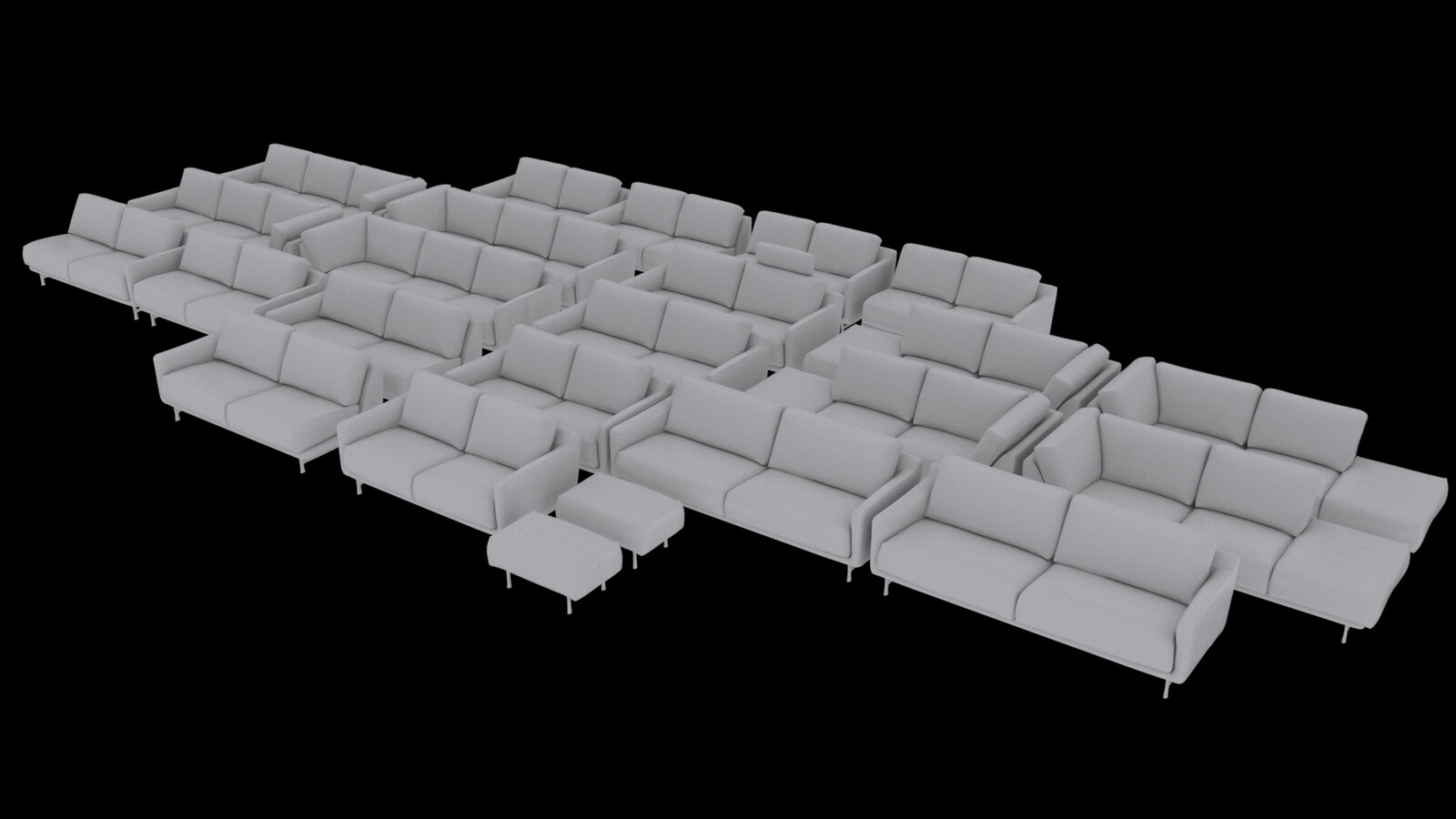 All Variations of the Couch