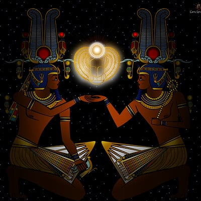 Larry springfield jr blessed be the pharaoh