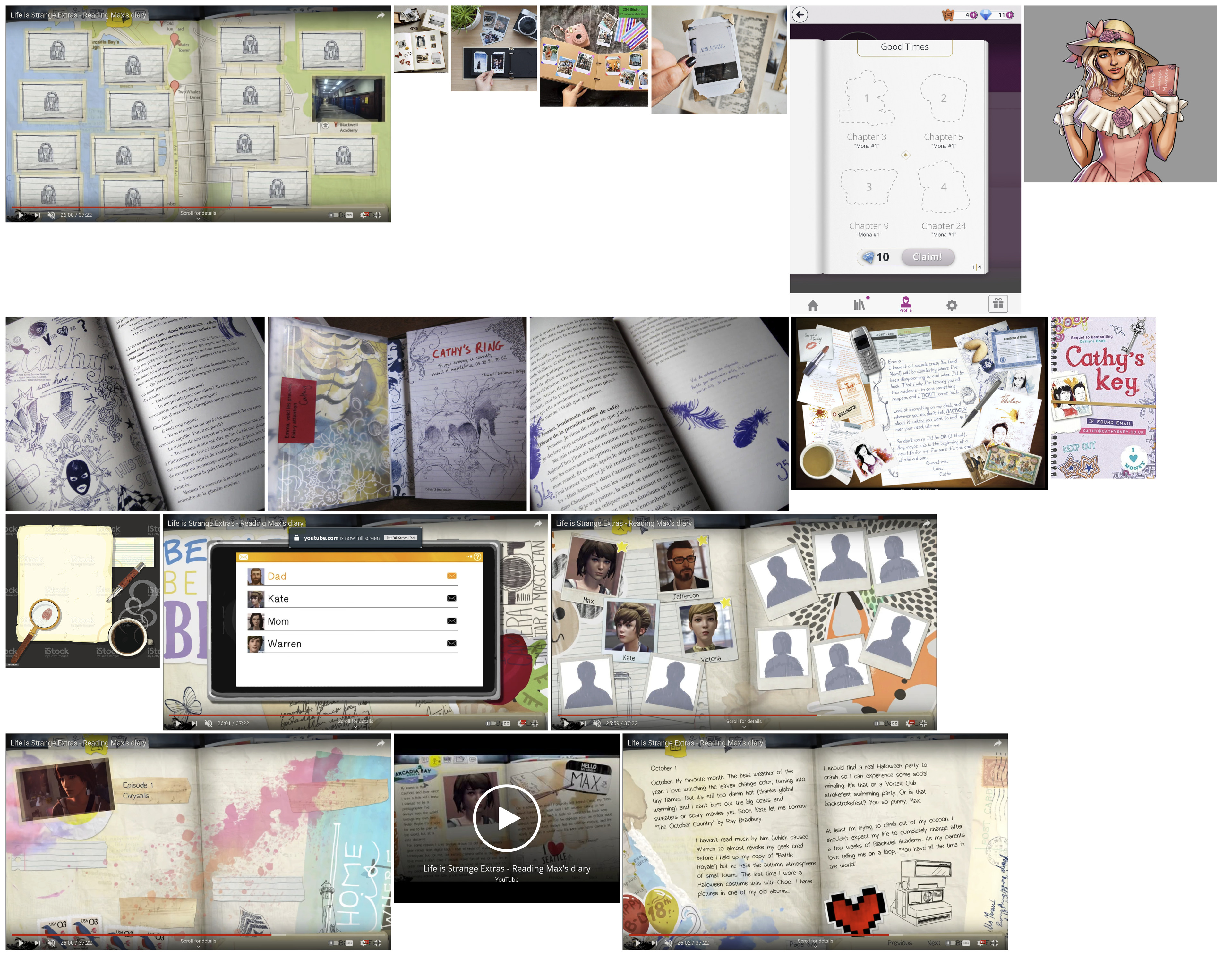 References for the design of the notebook.