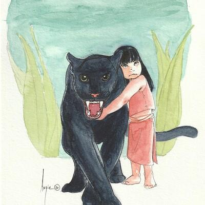 Draeris fillette panther