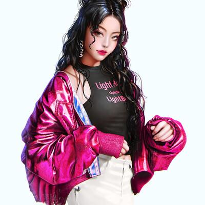 Lightbox 211013 sukajan jacket girl 1