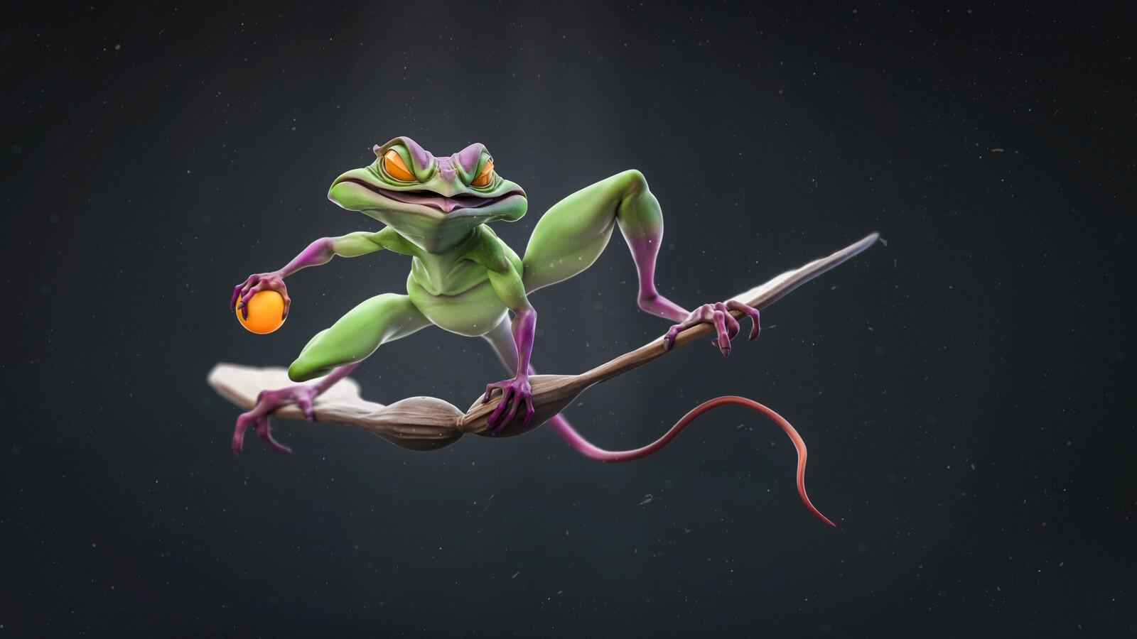Green Goblin Frog