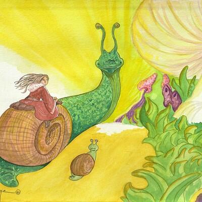 Draeris pony snail
