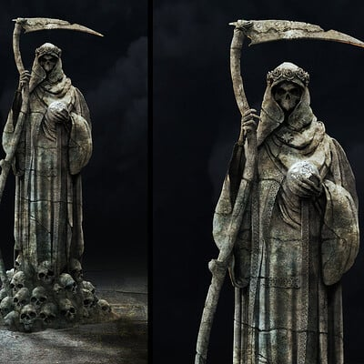 Greg semkow stm statue full