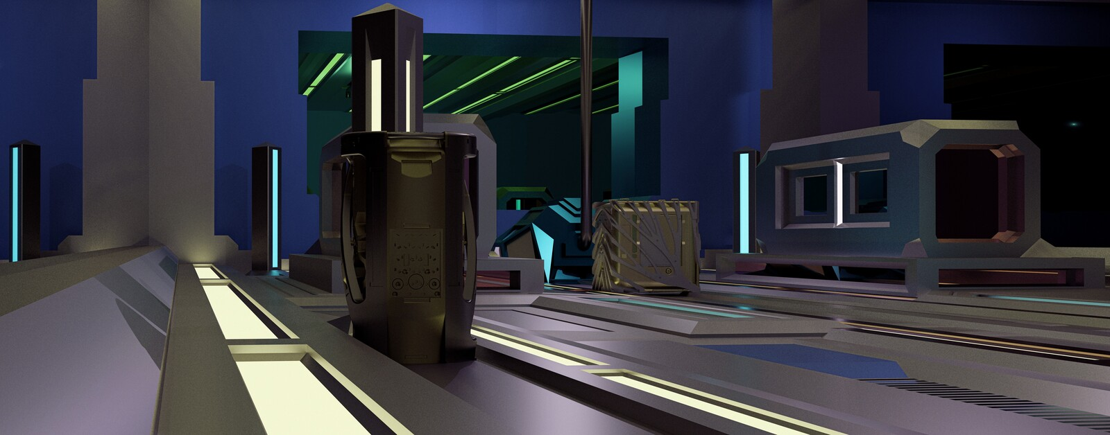Industrial Inisthereal Celestiod Test Scifi cylindroid prototest mirrornetheridustrial Visualiser