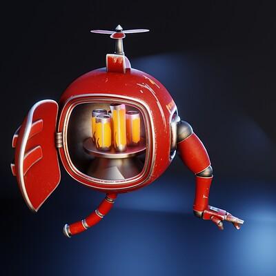 Phong ly refridgerator robot 1