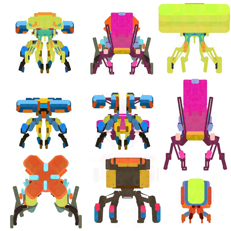 Color Blocks Exploration